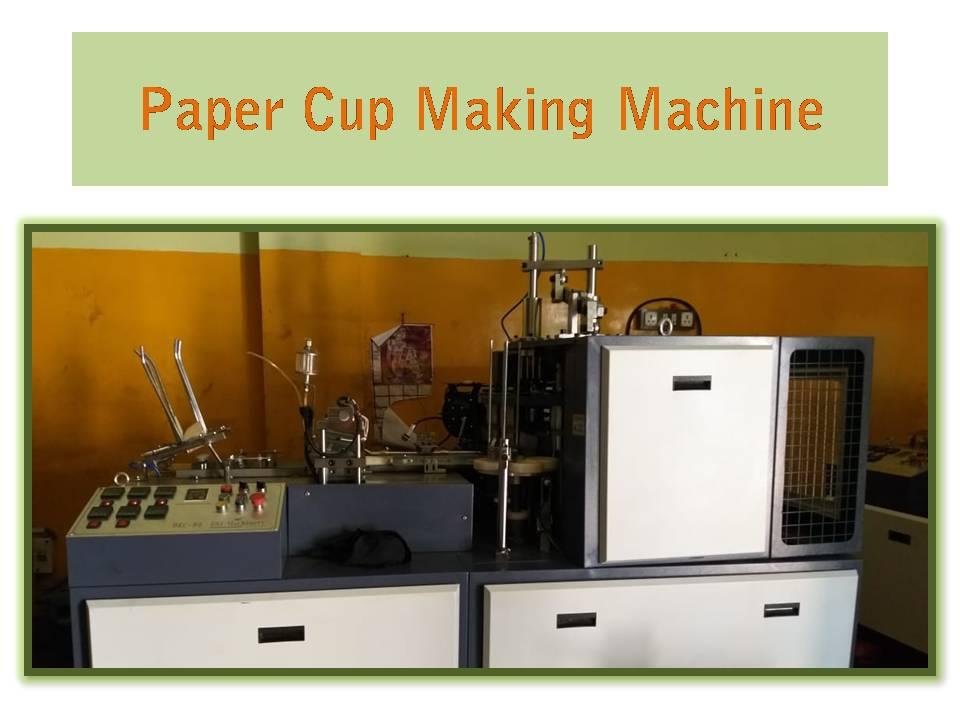 Paper cup making machine in Kolkata.